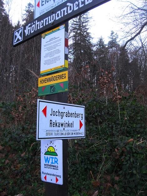 Foto: Andreas Koller / Wandertour / WIR - Runde über den Jochgrabenberg (645m) / Fast zurück in Rekawinkel / 10.01.2021 23:38:16