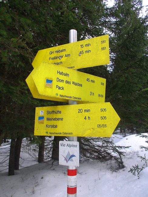 Foto: Andreas Koller / Schneeschuhtour / Hebalm - Klassiker Bärofen (1720m) / 19.02.2021 03:16:44