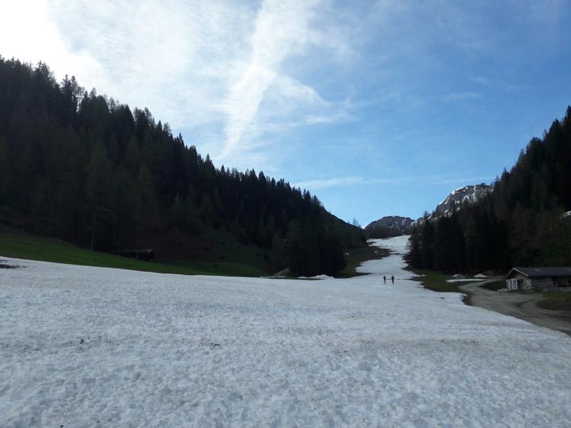 Foto: Rupert Gredler / Skitour / Schwarzkopf über den Nordrücken / Es geht los / 21.02.2021 13:46:51