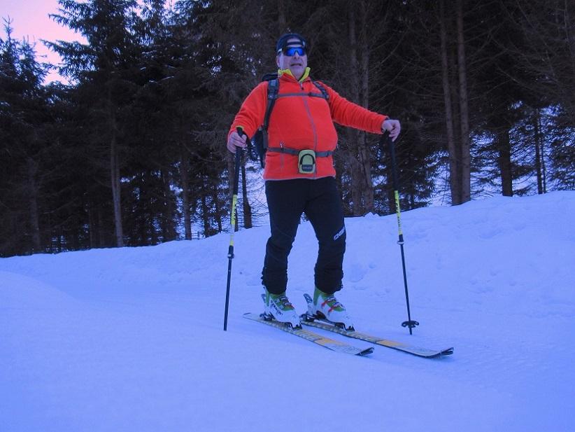 Foto: Andreas Koller / Skitour / Seitnerzinken Südroute (2164m) / Tourengebiet Bretsteingraben / 21.02.2021 00:58:51