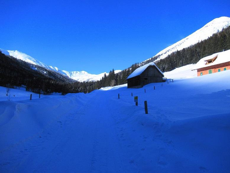 Foto: Andreas Koller / Skitour / Seitnerzinken Südroute (2164m) / 21.02.2021 00:58:17