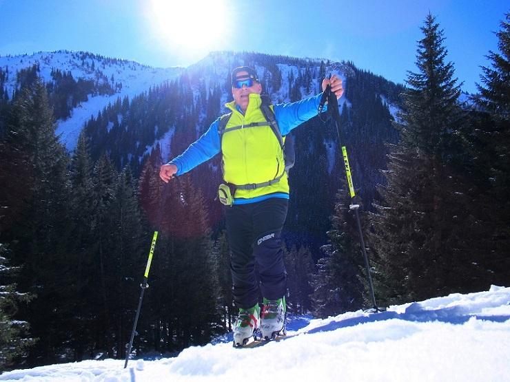 Foto: Andreas Koller / Skitour / Seitnerzinken Südroute (2164m) / 21.02.2021 00:58:08