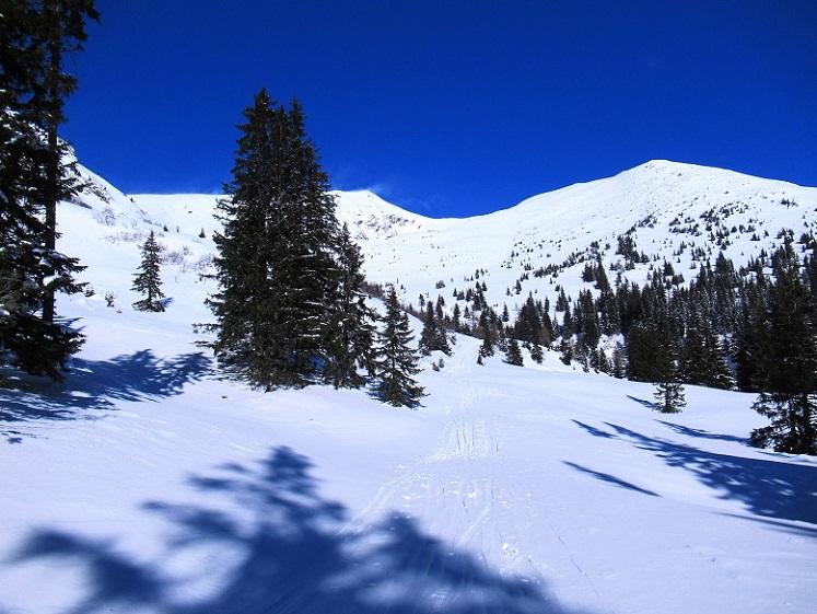 Foto: Andreas Koller / Skitour / Seitnerzinken Südroute (2164m) / 21.02.2021 00:57:11