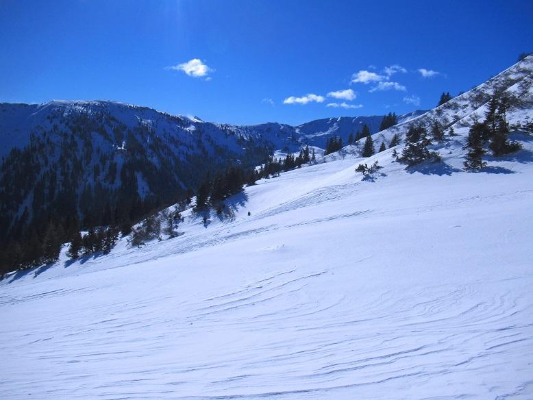 Foto: Andreas Koller / Skitour / Seitnerzinken Südroute (2164m) / 21.02.2021 00:56:20