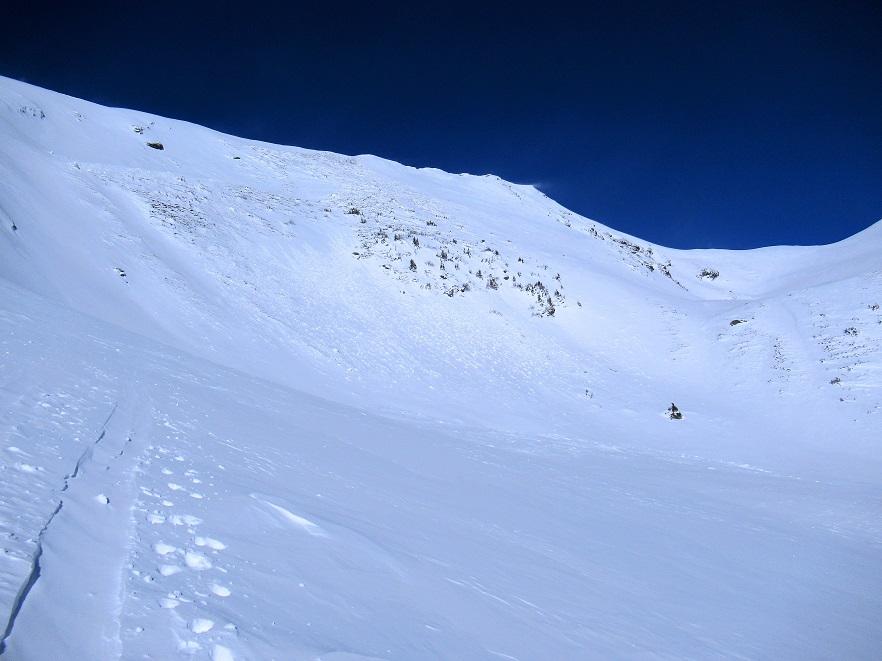 Foto: Andreas Koller / Skitour / Seitnerzinken Südroute (2164m) / 21.02.2021 00:56:00
