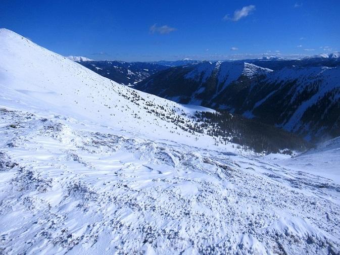 Foto: Andreas Koller / Skitour / Seitnerzinken Südroute (2164m) / 21.02.2021 00:54:40