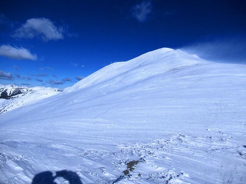 Foto: Andreas Koller / Skitour / Seitnerzinken Südroute (2164m) / Finaler Grataufstieg / 21.02.2021 00:54:33