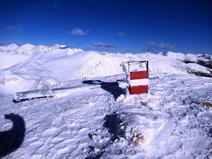 Foto: Andreas Koller / Skitour / Seitnerzinken Südroute (2164m) / Gipfel Seitnerzinken / 21.02.2021 00:53:51
