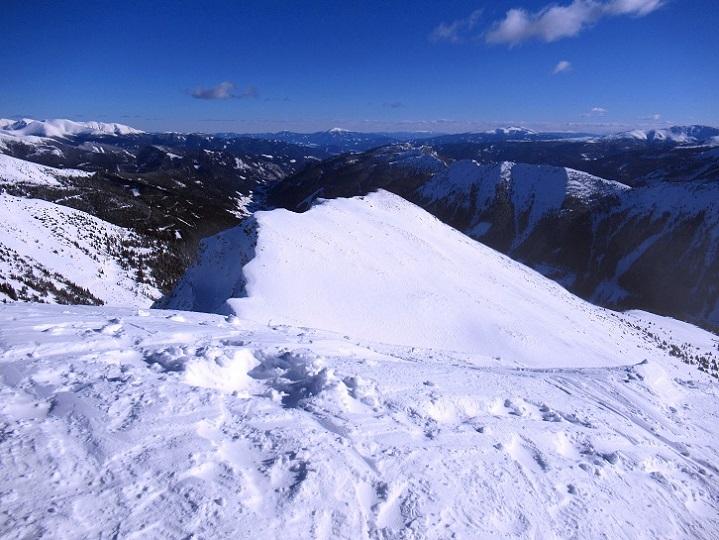 Foto: Andreas Koller / Skitour / Seitnerzinken Südroute (2164m) / 21.02.2021 00:53:36