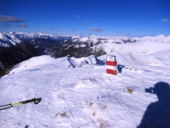 Foto: Andreas Koller / Skitour / Seitnerzinken Südroute (2164m) / 21.02.2021 00:53:22