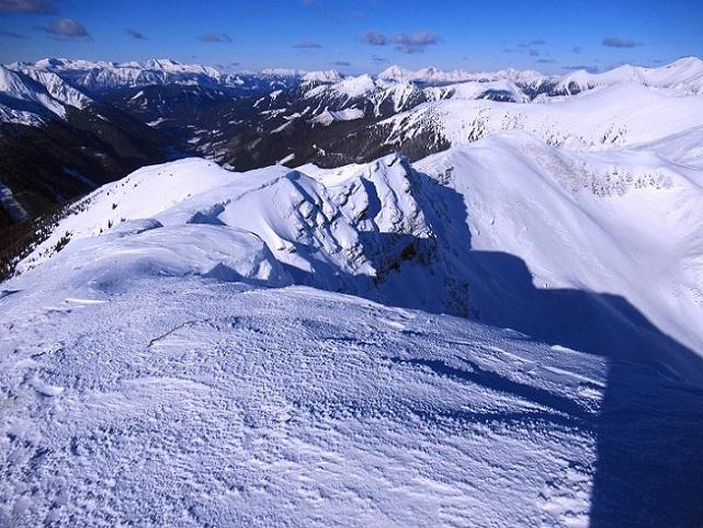 Foto: Andreas Koller / Skitour / Seitnerzinken Südroute (2164m) / 21.02.2021 00:52:29
