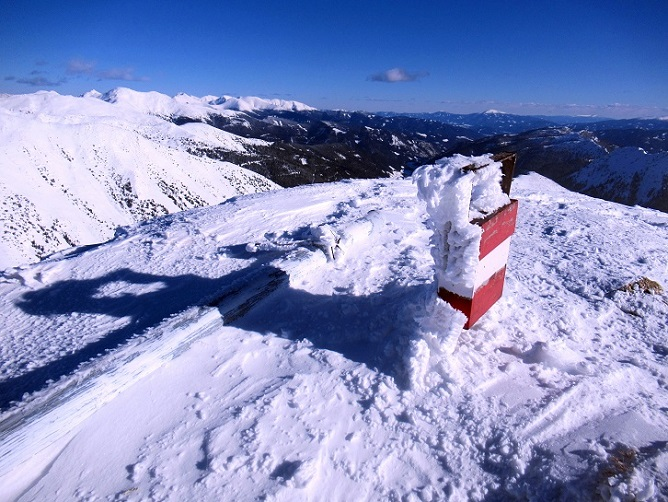 Foto: Andreas Koller / Skitour / Seitnerzinken Südroute (2164m) / 21.02.2021 00:52:23