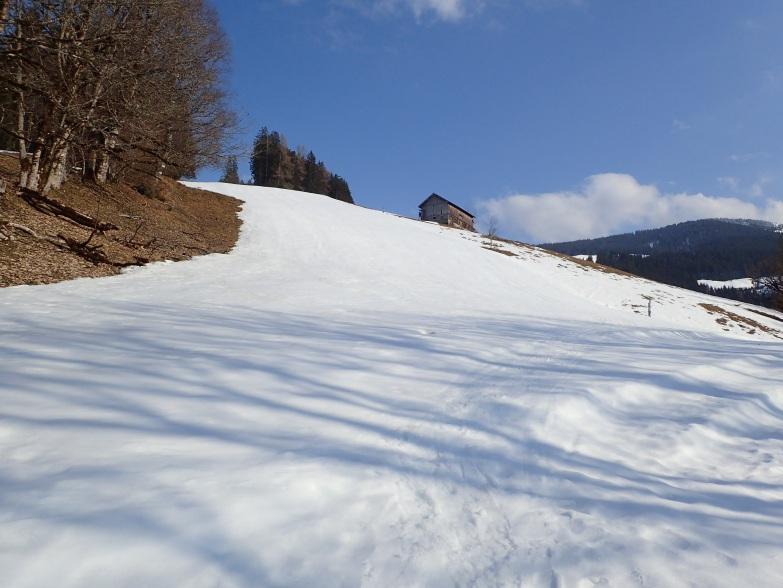 Foto: Manfred Karl / Skitour / Gabühel von Hintermoos / Verwaiste Piste / 22.03.2021 06:47:59