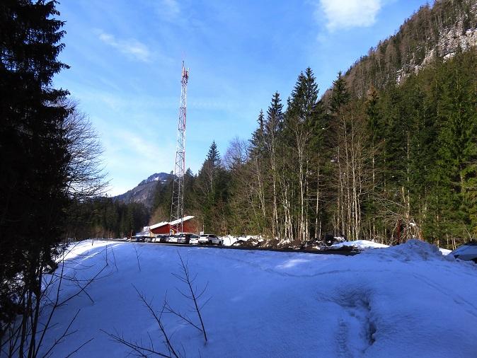 Foto: Andreas Koller / Skitour / Vom Pyhrnpass auf den Lahnerkogel (1854m) / Parkplatz Pyhrnpass (200m südlich der Passhöhe) / 01.05.2021 18:24:25