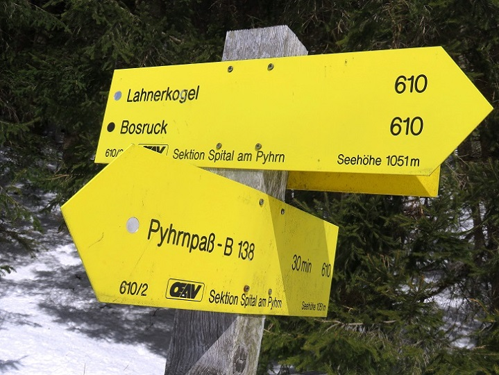 Foto: Andreas Koller / Skitour / Vom Pyhrnpass auf den Lahnerkogel (1854m) / 01.05.2021 18:23:26