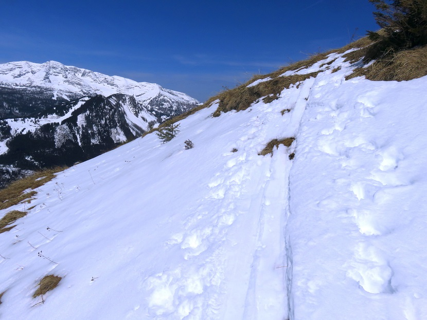Foto: Andreas Koller / Skitour / Vom Pyhrnpass auf den Lahnerkogel (1854m) / 01.05.2021 18:20:42