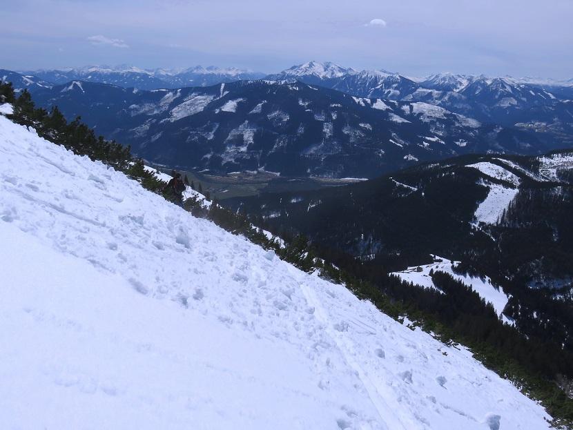 Foto: Andreas Koller / Skitour / Vom Pyhrnpass auf den Lahnerkogel (1854m) / 01.05.2021 18:19:39