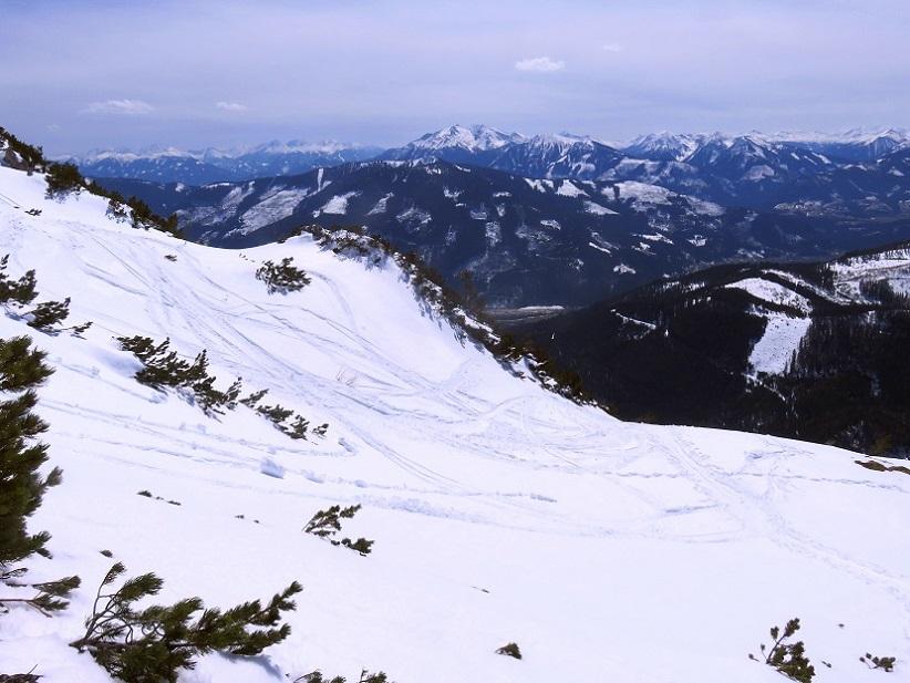 Foto: Andreas Koller / Skitour / Vom Pyhrnpass auf den Lahnerkogel (1854m) / 01.05.2021 18:18:17