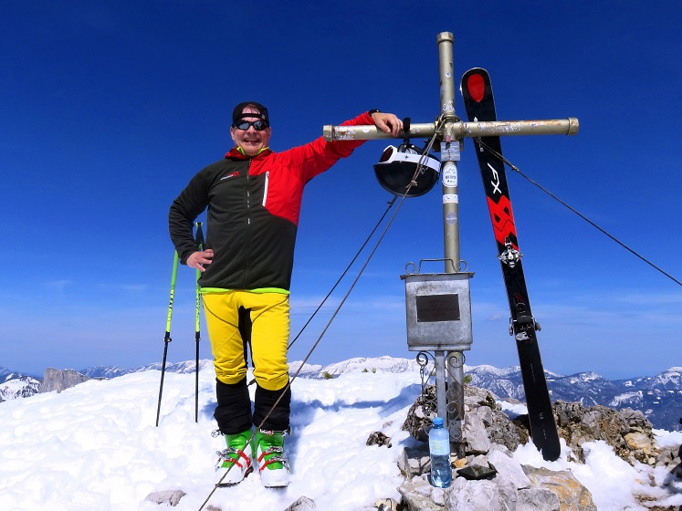 Foto: Andreas Koller / Skitour / Vom Pyhrnpass auf den Lahnerkogel (1854m) / 01.05.2021 18:16:53