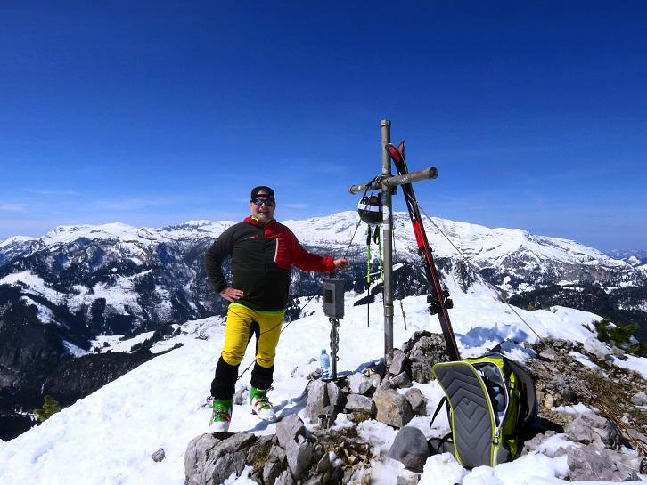 Foto: Andreas Koller / Skitour / Vom Pyhrnpass auf den Lahnerkogel (1854m) / 01.05.2021 18:16:30