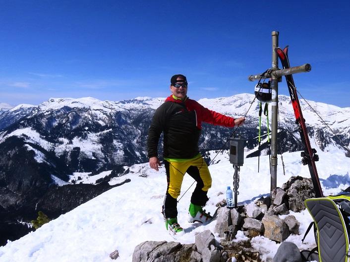 Foto: Andreas Koller / Skitour / Vom Pyhrnpass auf den Lahnerkogel (1854m) / 01.05.2021 18:15:37