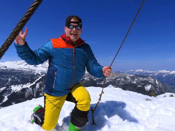 Foto: Andreas Koller / Skitour / Vom Pyhrnpass auf den Lahnerkogel (1854m) / 01.05.2021 18:14:53