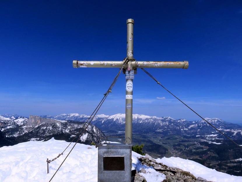 Foto: Andreas Koller / Skitour / Vom Pyhrnpass auf den Lahnerkogel (1854m) / 01.05.2021 18:14:45