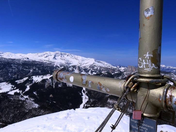 Foto: Andreas Koller / Skitour / Vom Pyhrnpass auf den Lahnerkogel (1854m) / 01.05.2021 18:13:57