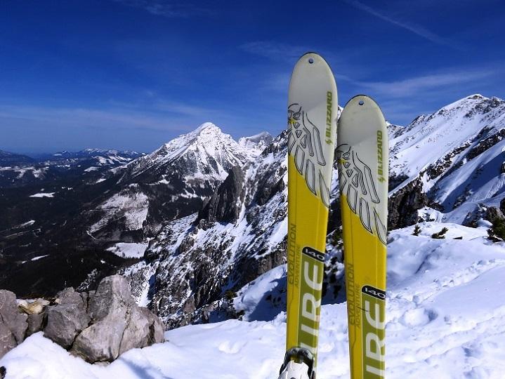 Foto: Andreas Koller / Skitour / Vom Pyhrnpass auf den Lahnerkogel (1854m) / 01.05.2021 18:13:50