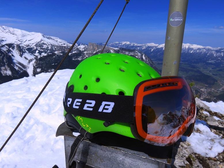 Foto: Andreas Koller / Skitour / Vom Pyhrnpass auf den Lahnerkogel (1854m) / Bereit für die Abfahrt / 01.05.2021 18:13:44