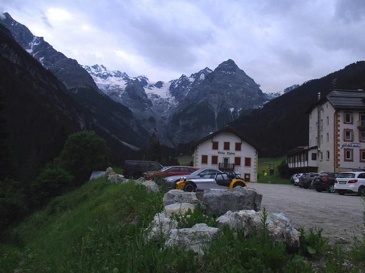 Foto: Andreas Koller / Klettersteigtour / Klettersteig Trafoi (1575m) / Ausgangspunkt Hotel Bella Vista / 02.05.2021 23:34:52