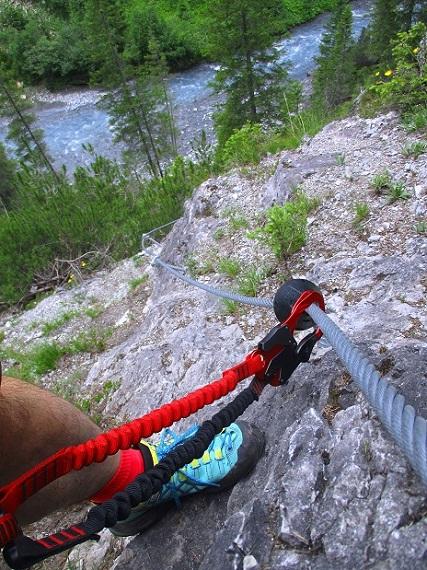 Foto: Andreas Koller / Klettersteigtour / Klettersteig Trafoi (1575m) / 02.05.2021 23:34:14
