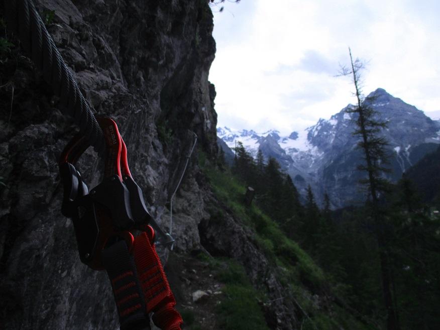 Foto: Andreas Koller / Klettersteigtour / Klettersteig Trafoi (1575m) / 02.05.2021 23:34:09