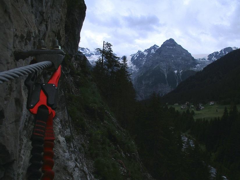 Foto: Andreas Koller / Klettersteigtour / Klettersteig Trafoi (1575m) / 02.05.2021 23:33:53