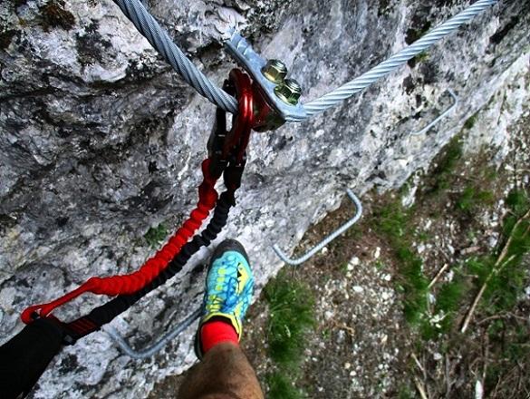 Foto: Andreas Koller / Klettersteigtour / Klettersteig Trafoi (1575m) / 02.05.2021 23:33:47