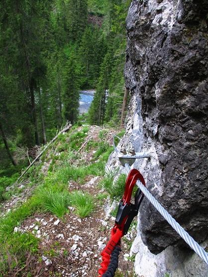 Foto: Andreas Koller / Klettersteigtour / Klettersteig Trafoi (1575m) / 02.05.2021 23:33:19