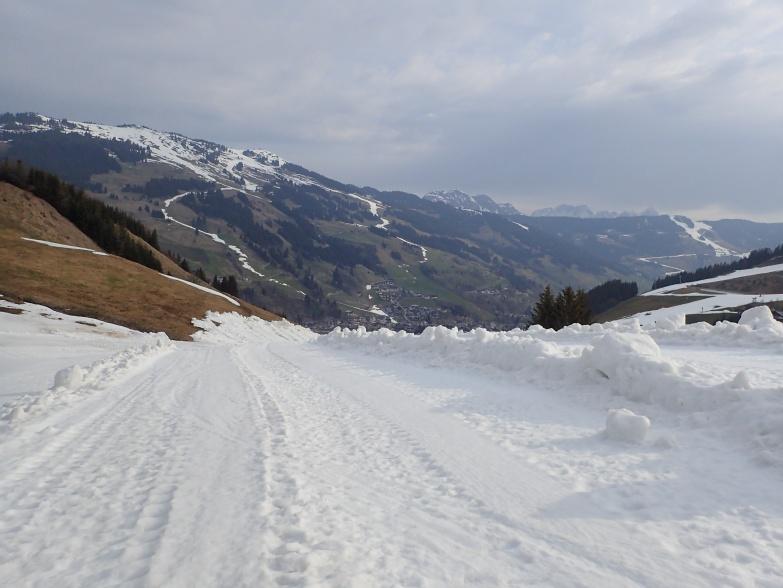 Foto: Manfred Karl / Skitour / Von Hinterglemm auf den Zwölferkogel / Kunstschnee macht´s möglich / 03.05.2021 06:59:20