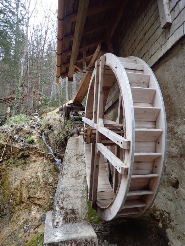 Foto: Manfred Karl / Wandertour / Höhenweg Plötz - Wieselberg / Die Mühlen wurden z.T. aufwendig restauriert / 08.05.2021 07:34:31