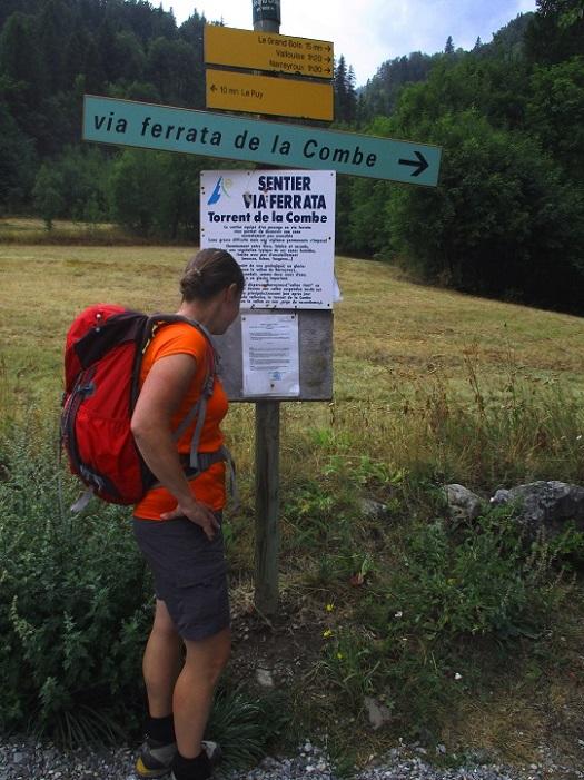 Foto: Andreas Koller / Klettersteigtour / Via ferrata du Torrent de la Combe (1575m) / 19.05.2021 02:31:30