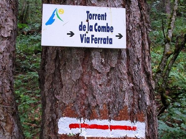 Foto: Andreas Koller / Klettersteigtour / Via ferrata du Torrent de la Combe (1575m) / 19.05.2021 02:31:20