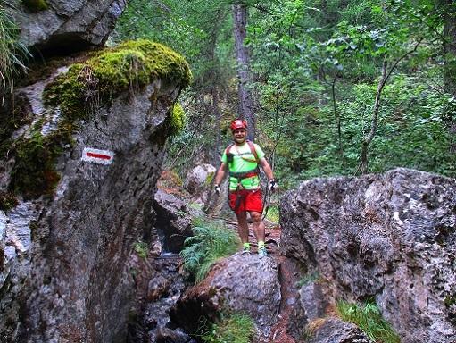 Foto: Andreas Koller / Klettersteigtour / Via ferrata du Torrent de la Combe (1575m) / 19.05.2021 02:31:05
