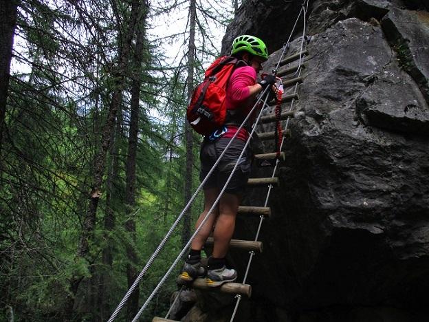 Foto: Andreas Koller / Klettersteigtour / Via ferrata du Torrent de la Combe (1575m) / 19.05.2021 02:30:50