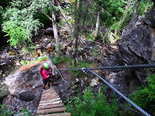 Foto: Andreas Koller / Klettersteigtour / Via ferrata du Torrent de la Combe (1575m) / 19.05.2021 02:30:45