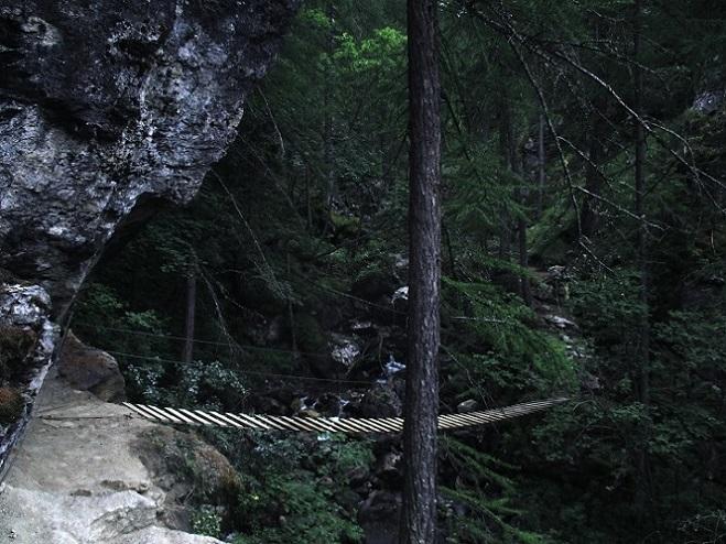 Foto: Andreas Koller / Klettersteigtour / Via ferrata du Torrent de la Combe (1575m) / 19.05.2021 02:30:40