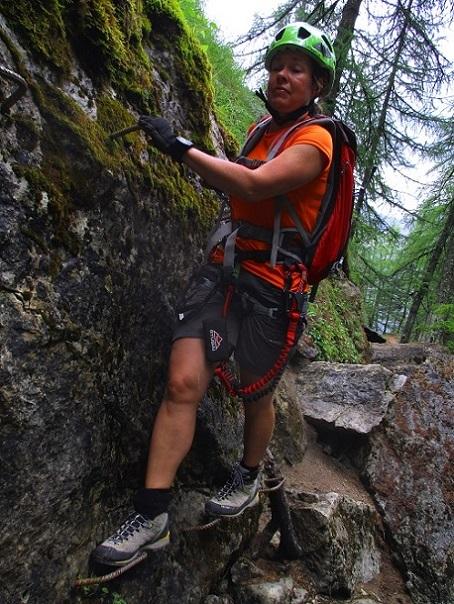 Foto: Andreas Koller / Klettersteigtour / Via ferrata du Torrent de la Combe (1575m) / 19.05.2021 02:30:15