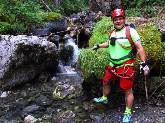 Foto: Andreas Koller / Klettersteigtour / Via ferrata du Torrent de la Combe (1575m) / 19.05.2021 02:30:04