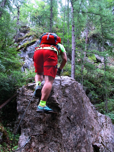 Foto: Andreas Koller / Klettersteigtour / Via ferrata du Torrent de la Combe (1575m) / 19.05.2021 02:29:46