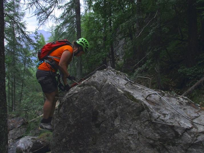 Foto: Andreas Koller / Klettersteigtour / Via ferrata du Torrent de la Combe (1575m) / 19.05.2021 02:28:50