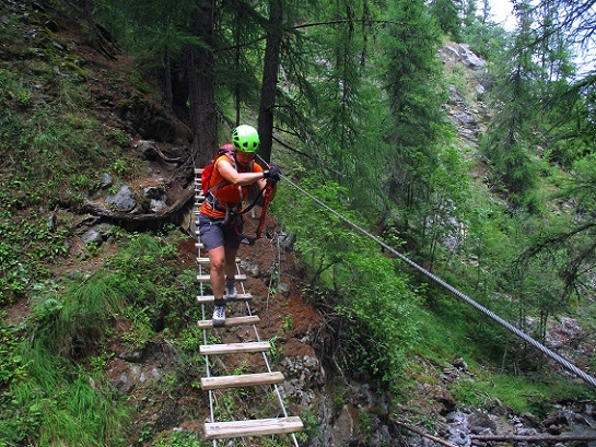 Foto: Andreas Koller / Klettersteigtour / Via ferrata du Torrent de la Combe (1575m) / 19.05.2021 02:28:36