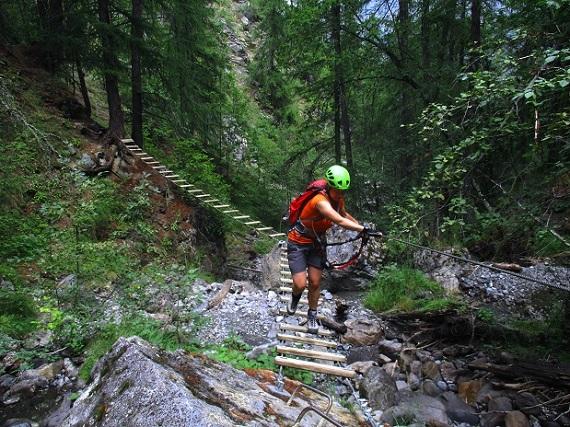 Foto: Andreas Koller / Klettersteigtour / Via ferrata du Torrent de la Combe (1575m) / 19.05.2021 02:28:30